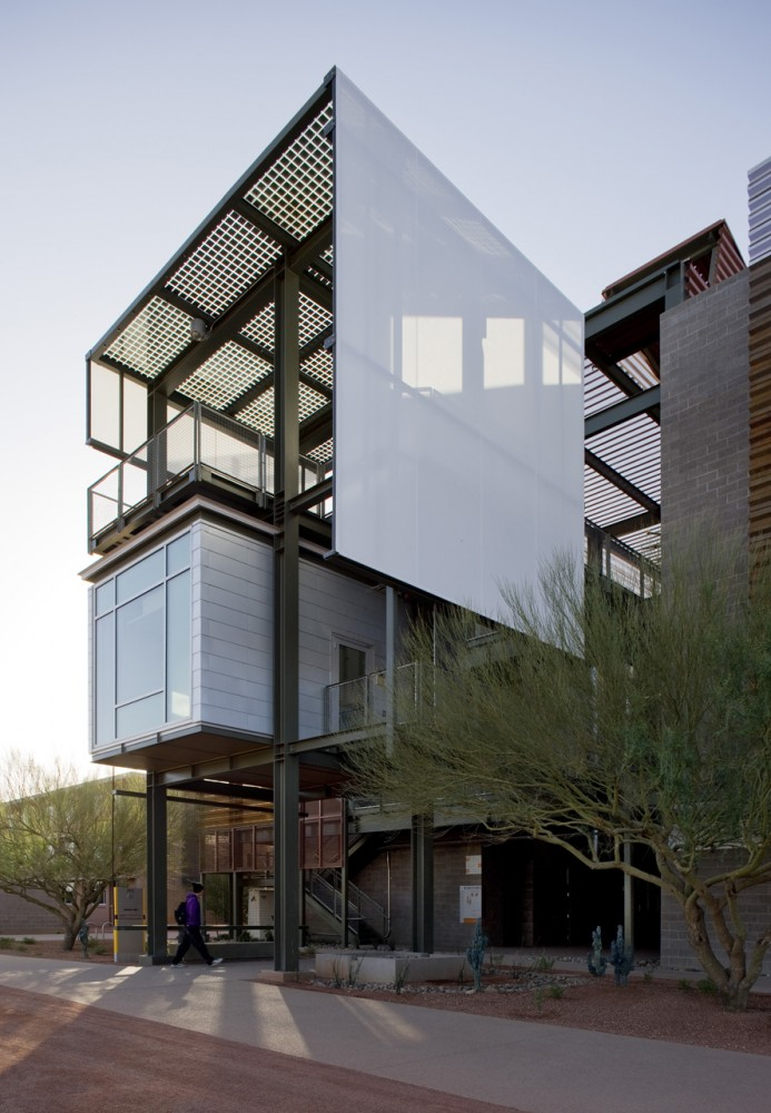 Architecture photography asu polytechnic campus lake for Rsp architects