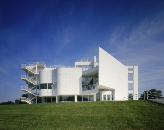 Ad Classics The Atheneum Richard Meier Partners