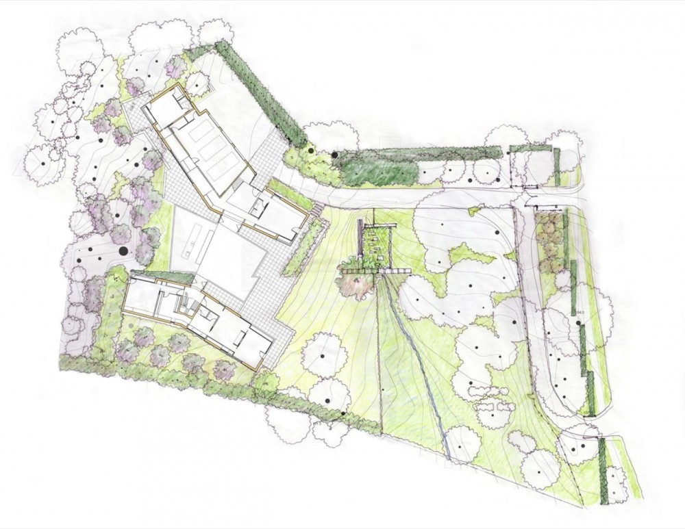 Architecture Photography Site Plan 107091