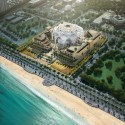 Abu Dhabi Federal National Council building competition © bioLINIA