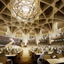 Abu Dhabi Federal National Council building competition © GAJ and bioLINIA