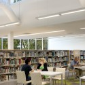 Ramsey County Roseville Library / Meyer, Scherer & Rockcastle © Lara Swimmer Photography