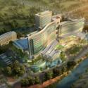 طراحی نمای بیمارستان