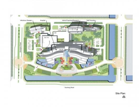طراحی نمای،طراحی نمای بیمارستان