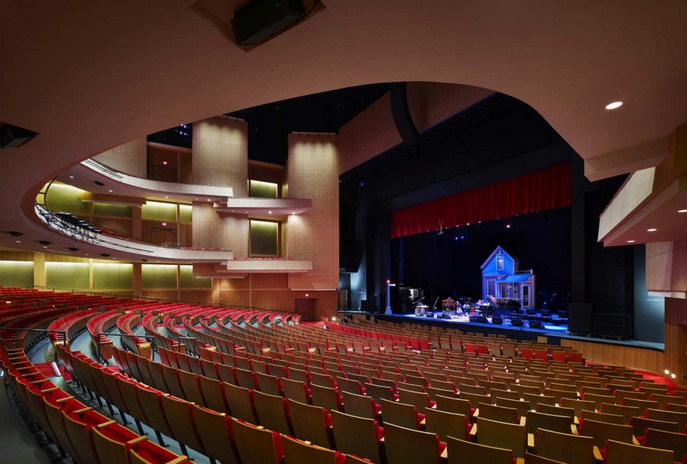 The Durham Performing Arts Center Szostak Design Archdaily