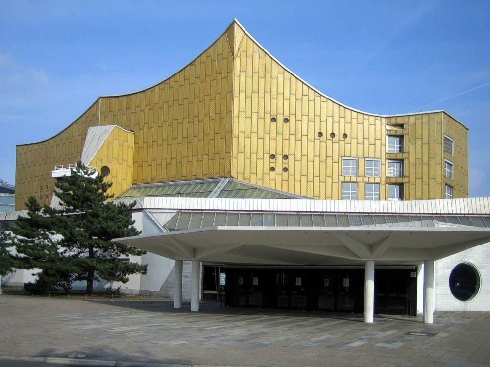 AD Classics: Berlin Philharmonic / Hans Scharoun