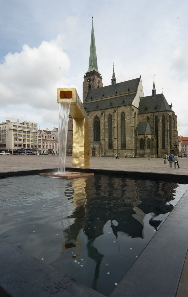 Fountain at Pilsen / Ondřej Císler