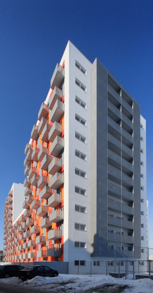 High Density Residential Building / Solano & Catalán, Elena Saricu
