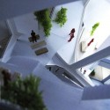 Vertical Village: A Sustainable Way of Village-Style Living a garden with various altitudes