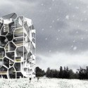 Vertical Village: A Sustainable Way of Village-Style Living Courtesy of Yushang Zhang, Rajiv Sewtahal, Riemer Postma &amp; Qianqian Cai
