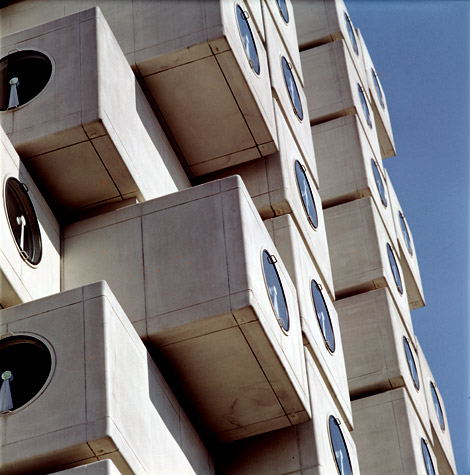 AD Classics: Nakagin Capsule Tower / Kisho Kurokawa