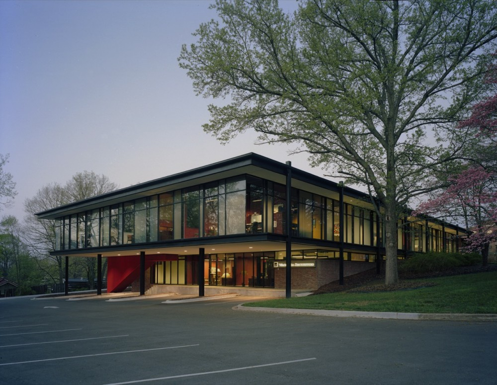 Fulbright Building Addition / Marlon Blackwell Architect