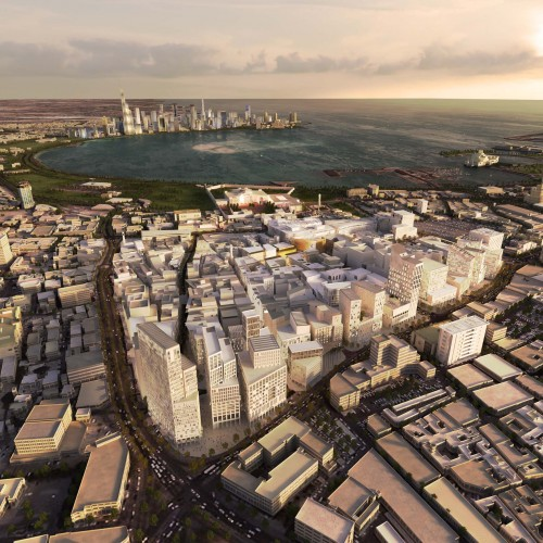 Musheireb master plan mossessian partners archdaily for Architecture companies qatar