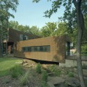 L-Stack House / Marlon Blackwell Architect © Timothy Hursley