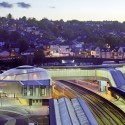 Newport Station / Grimshaw  Courtesy of Grimshaw