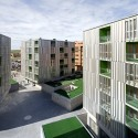 156 Transitory Dwellings In Parla Madrid/ Rueda Pizarro Arquitectos SLP  Miguel de Guzmn