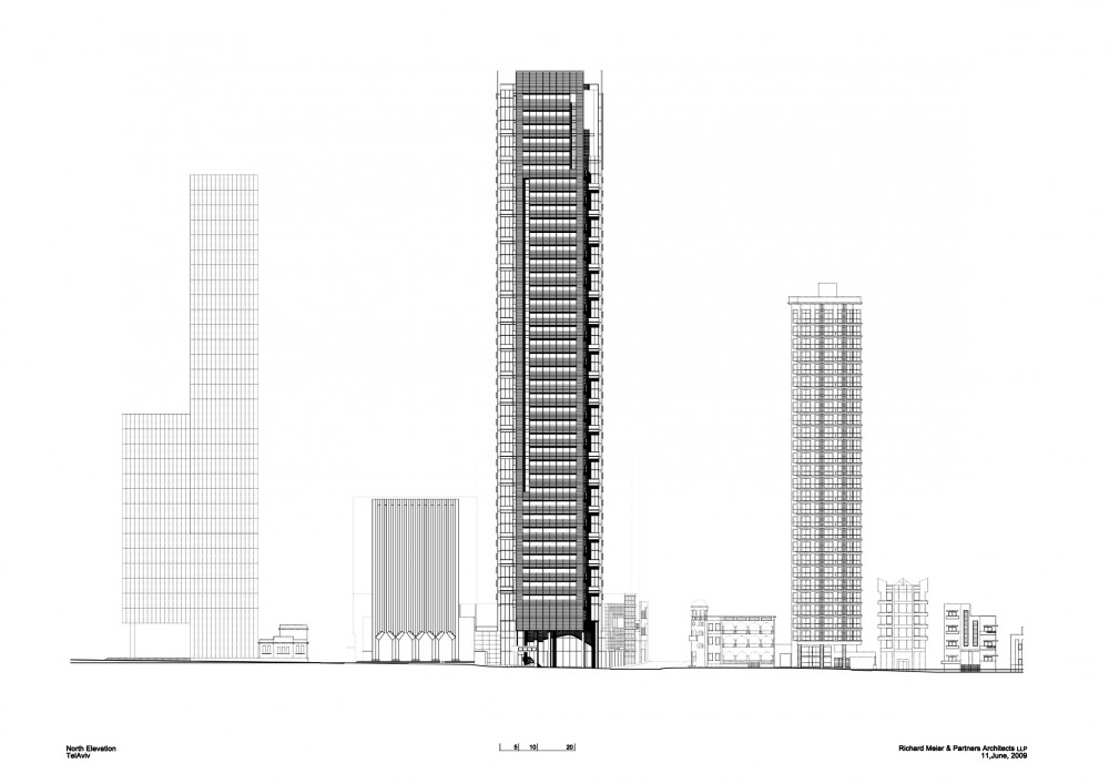 In Progress: Rothschild Tower In Tel Aviv / Richard Meier & Partners Architects