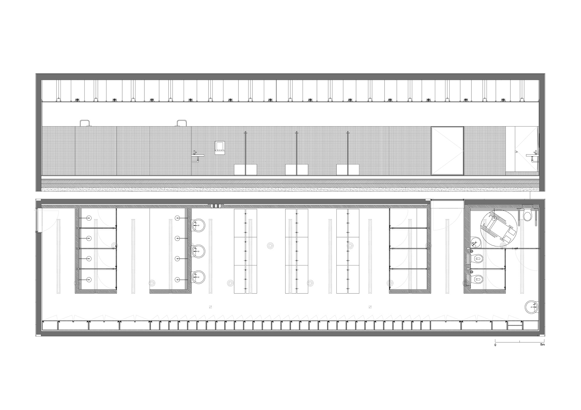 Architecture Photography Changing Room Plan 112959