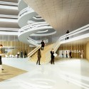 03_Atrium with Main Entrance and Reception © 3XN