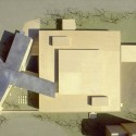 Model aerial view Aerial view, Courtesy of Steven Holl Architects