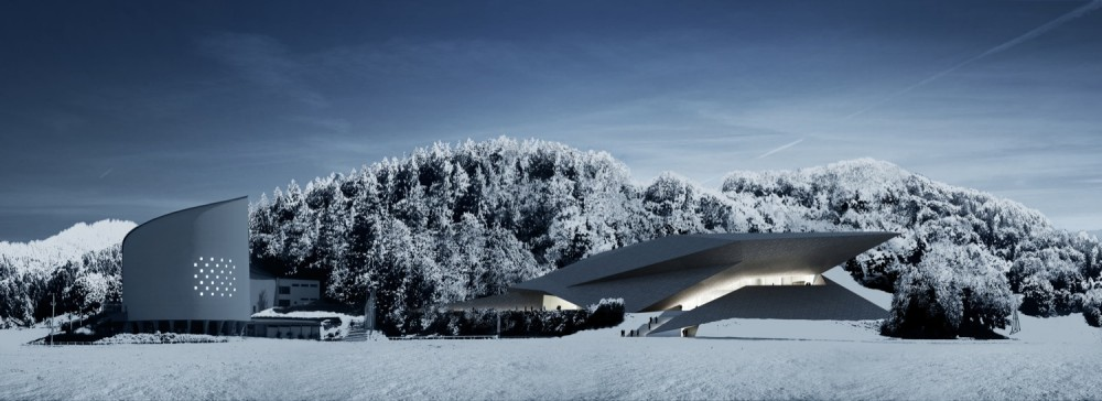 Winter Festival Hall / Delugan Meissl
