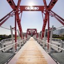 Des Moines Union Railway Bridge / Safdie Rabines Architects © Max Kun Zhang
