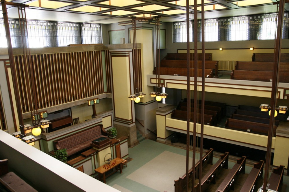 AD Classics: Unity Temple / Frank Lloyd Wright