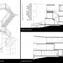 sections + axonometric of stair sections + axonometric of stair