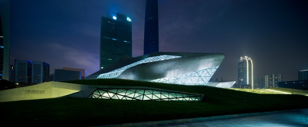 Guangzhou Opera House / Zaha Hadid Architects