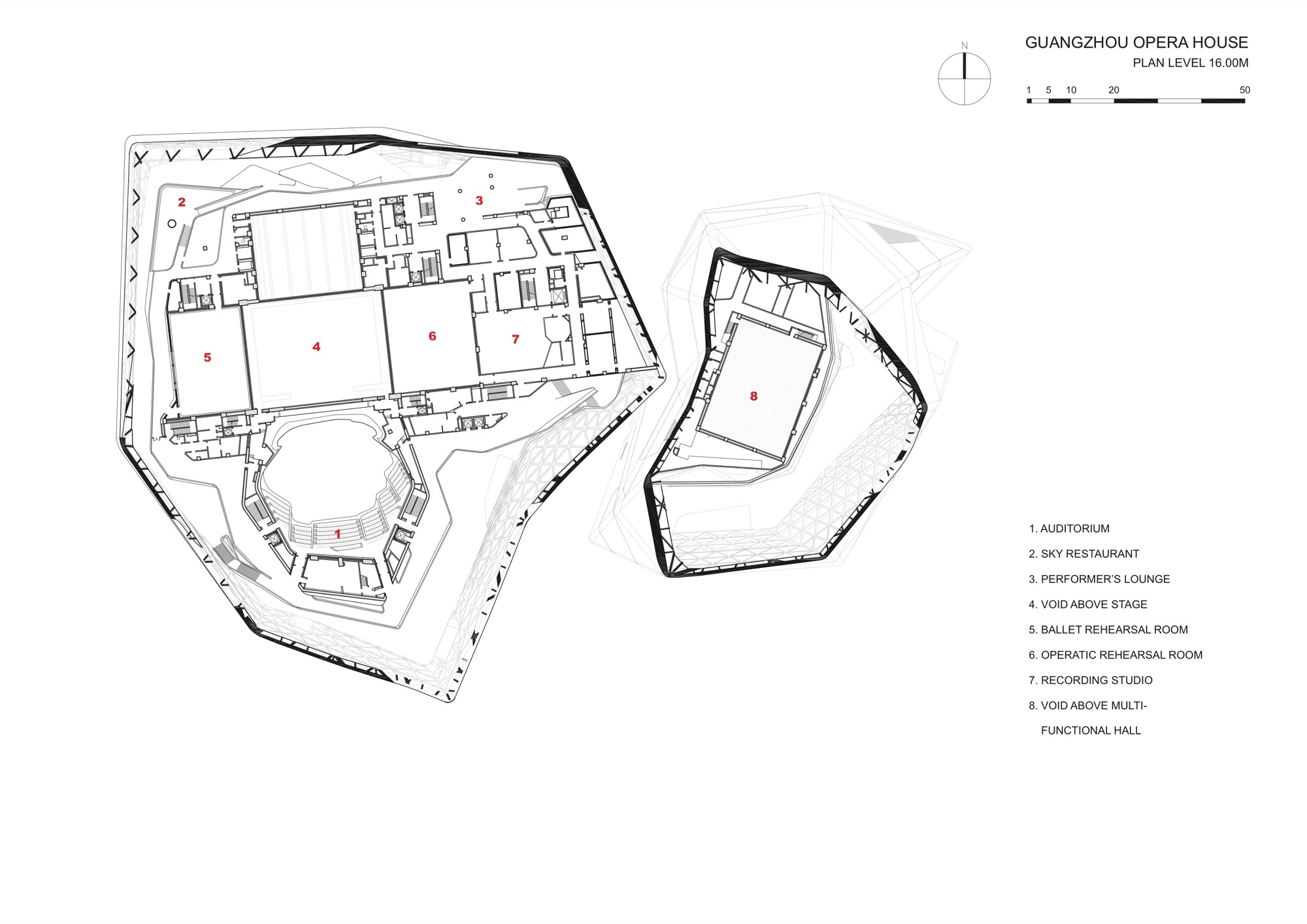 Architecture Photography Fourth Floor Plan 116043