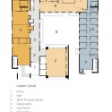 first floor plan first floor plan  BNIM