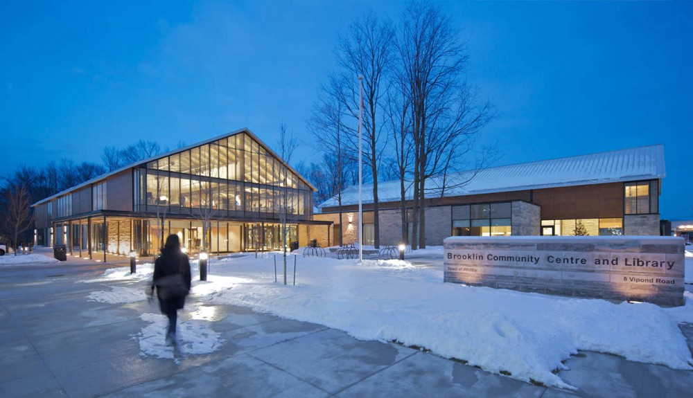 Brooklin Community Centre And Library / Perkins + Will