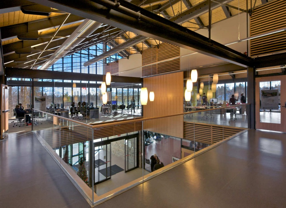 Architecture Photography Brooklin Community Centre And