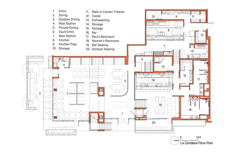 Architecture photography plan 118070 for Architects office design plans