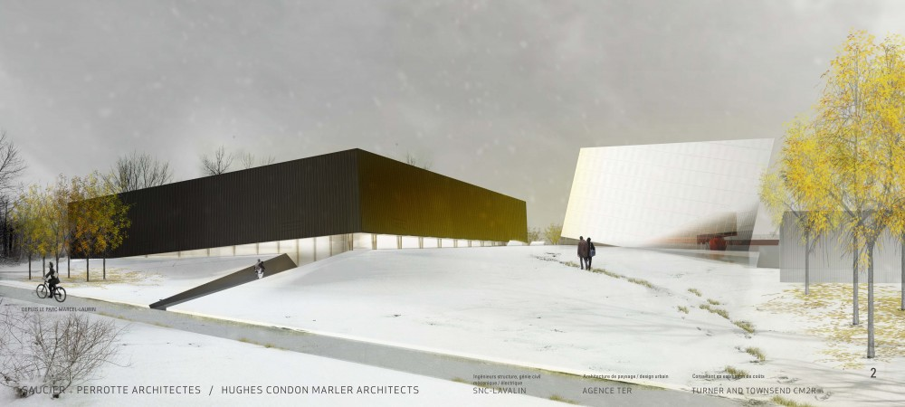 Saint-Laurent Sports Complex Architecture Competition Winner