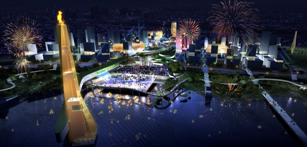Populous to design Nanjing&#8217;s master plan for the 2014 Youth Olympic Games