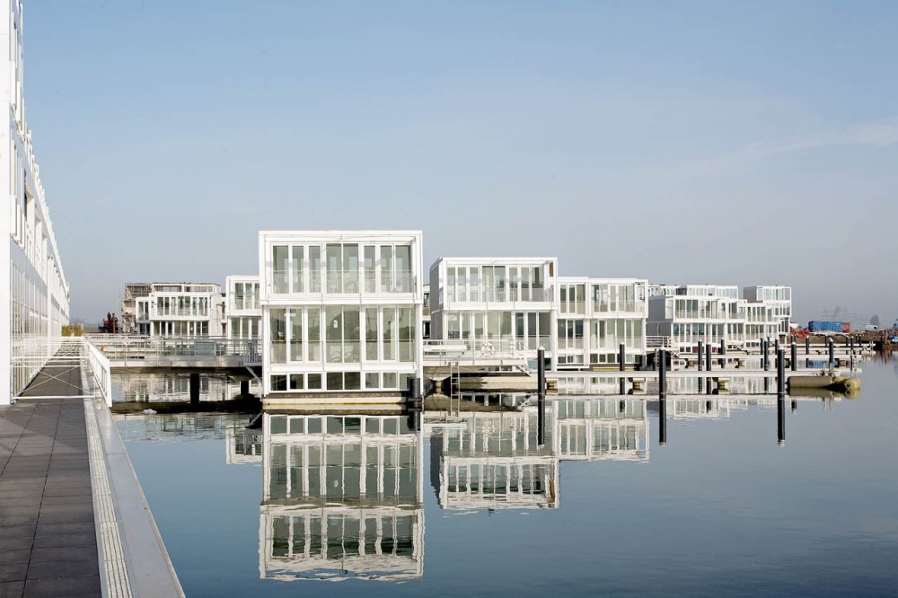 Floating Houses in IJburg / Architectenbureau Marlies Rohmer