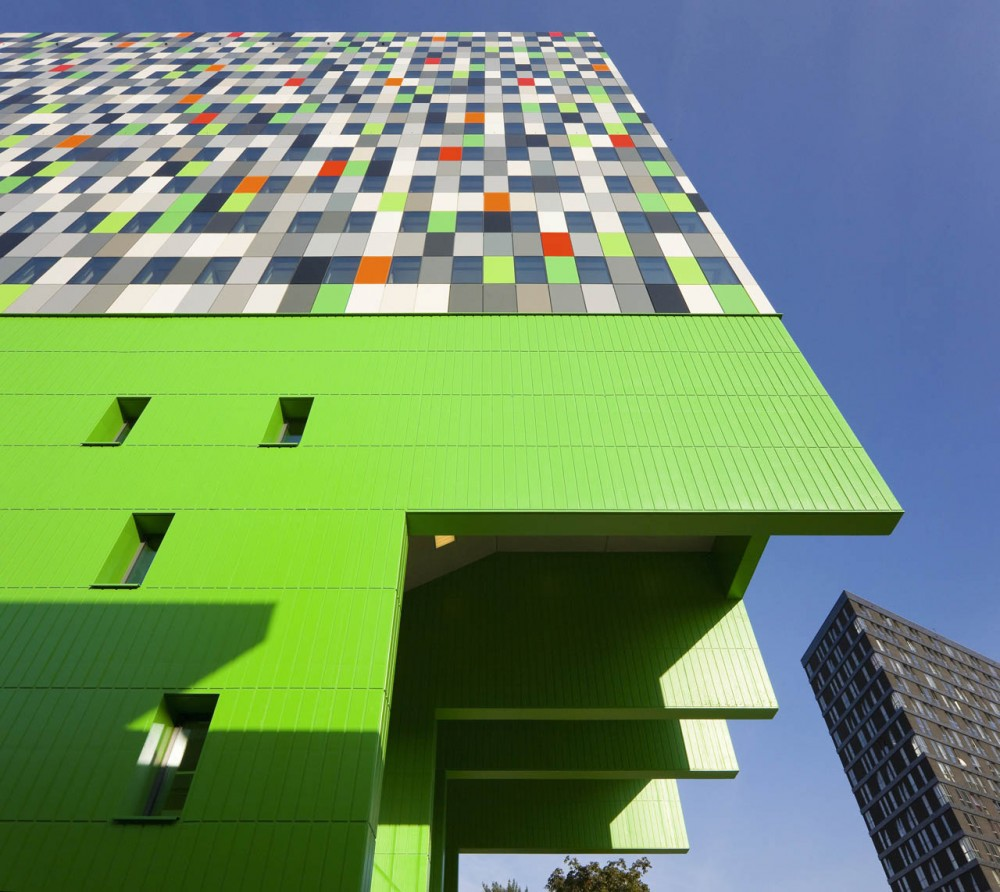 380 Student Units and Public Space Design / Architectenbureau Marlies Rohmer