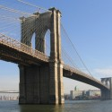 AD Classics: The Brooklyn Bridge / John Roebling Courtesy of Wikimedia Commons / postdlf