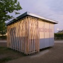 Simple-Tech-Kiosk / partnerundpartner-architekten © Stefan Günther