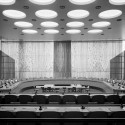 Swedish Drapery in the Economic and Social Council Chamber © United Nations Photo