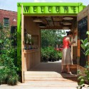 Welcome Hut at the Evergreens Brick Works / Levitt Goodman Architects  Ben Rahn / A-Frame