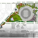 San Diego Stadium Master Plan / de bartolo + rimanic design studio and McCullough Landscape Architecture Landscape Plan