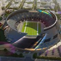 San Diego Stadium Master Plan / de bartolo + rimanic design studio and McCullough Landscape Architecture Rendering courtesy Design Subcontracting Company