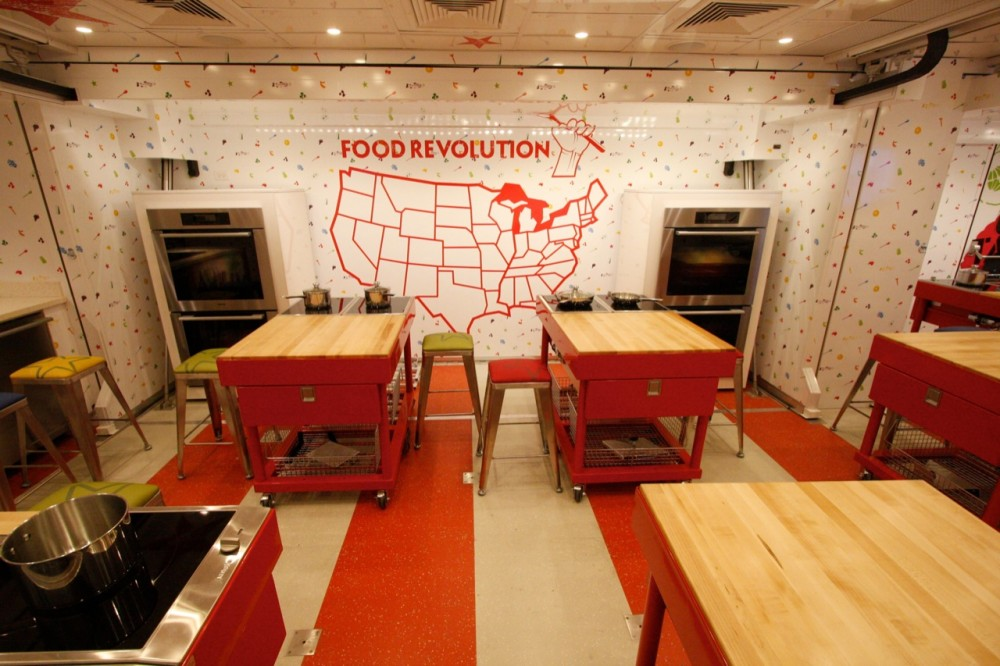 Jamie Oliver Food Truck / Rockwell Group