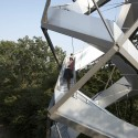Observation Tower On The River Mur / terrain:loenhart&mayr © terrain:loenhart&mayr