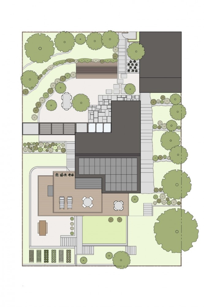 Architecture Photography Site Plan 122363