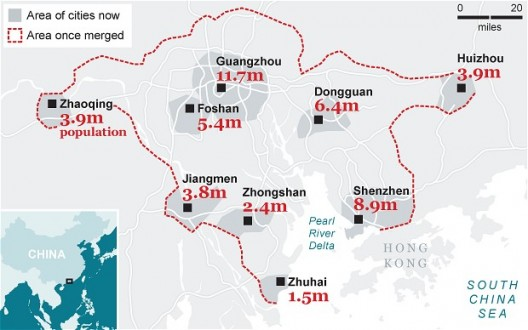 China&#8217;s Mega City