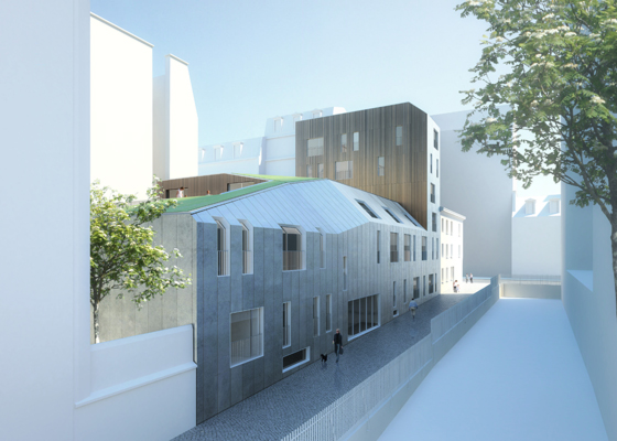 Residence for the Disabled / Atelier Zündel & Cristea