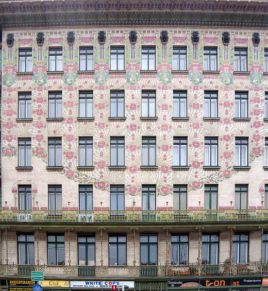 AD Classics: Majolikahaus / Otto Wagner